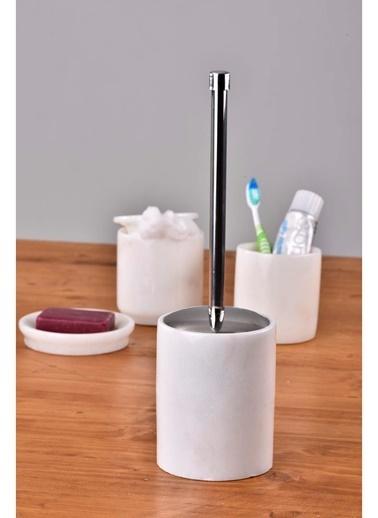 Gaya Stone Tuvalet Fırçası Beyaz
